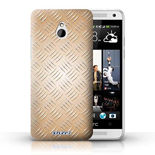 Kobalt® Imprimé Etui / Coque pour HTC One/1 Mini / Argent conception / Série Motif en Métal en Relief Or