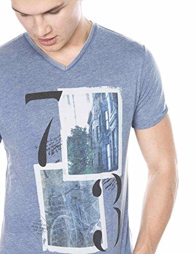 T- Shirt Pepe Jeans Blue Steel Blau