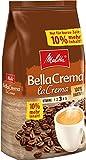 Melitta Ganze Kaffeebohnen, 100 % Arabica, vollmundig und ausgewogen, mittlerer Röstgrad, Stärke 3, BellaCrema la Crema, 1100g