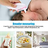 Zerodis Baby Thermometer, Professional Precision Digital Ear Forehead Infrared Thermometer Temperature Monitor Fever Indicator with LCD Display for Kids Toddler Children Adults