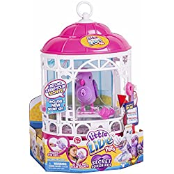 little live pets Pajaritos Parlanchines con Su Jaula. Serie 7 (Famosa 700013973)