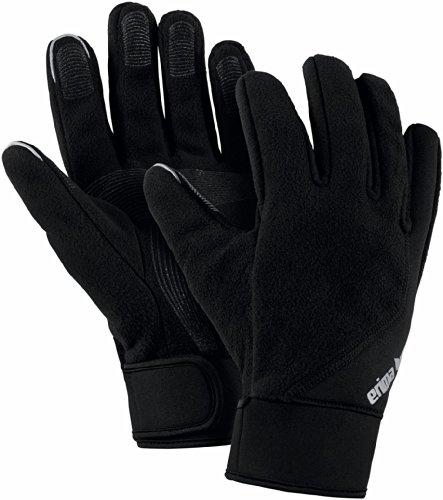 erima Sports Gloves, Schwarz/Silber, 6, 722405