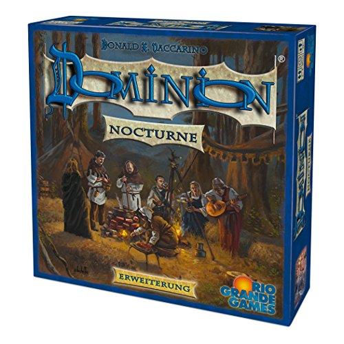 Rio Grande Games 22501414 Dominion Erweiterung - Nocturne, Blau
