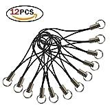 12 Stück Handgelenk Trageband Handschlaufe Tragegurt für Schlüssel, Handy, Kamera und USB-Stick Handy Bügel Lanyard