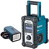Makita DMR109 10.8v-18v Job Site Radio With Makita DML186 LED Flashlight Torch