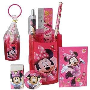 Minnie - Set Scolaire Pot à Crayons