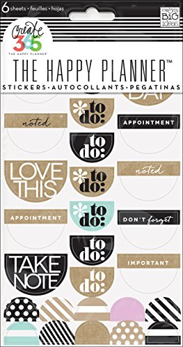 Create 365 Stickers 6 Sheets/Pkg-Love This Neutral -