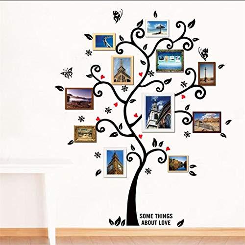 Habitación grande Marco de fotos Decoración Árbol genealógico Vinilos decorativos Vinilos decorativos...