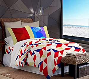 Bombay Dyeing Metro Double Bedhsheet with Two Pillow Covers
