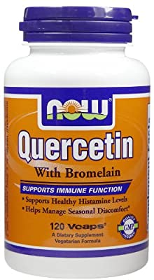 Now Foods Quercetin, With Bromelain - 120 vcaps Supports Immune Function from Now Foods