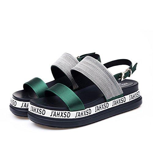 Sandali spessi scarpe scarpe/La parola con sandali da spiaggia A