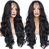 Vanessa Queen Synthetische Lace Front Perücke für Frauen Natural Body Wave lang Perücken Hitzebeständig 66cm