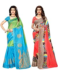 Applecreation Sarees New Collection Combo Offers For Women Art Silk & Georgette Saree For Women (SRJB007-Georgette14012...