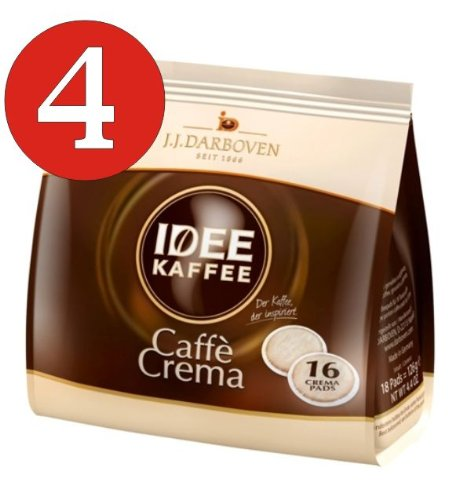 4 x Idee Kaffee Pads je 126g