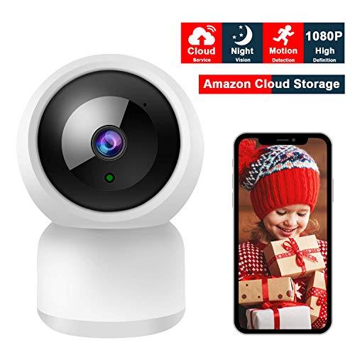 r, YUNDOO 1080P Video Camcorder Full HD 24MP, 3.0-Zoll-LCD-Bildschirm mit 270 Grad Drehbarem 16X-Digital Zoom Videokamera Zwei Batterie Enthalten (Uberwachungskamera) ()