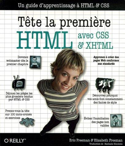 HTML avec CSS et XHTML Tête la première