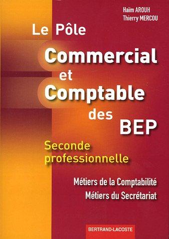 Commercial et Comptable BEP 2e Pro Métiers de la Comptabilité Métiers du Secrétariat Le Pôle