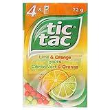 Tic Tac Lime E Arancio 4 X 18g (Confezione da 6)