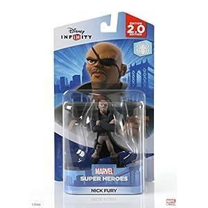 Unisex-Erwachsener – Official – Nick Fury – Disney Infinity Figur