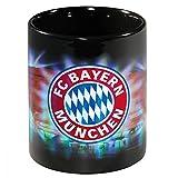 FC Bayern München Kaffeetasse, Tasse Arena Metallic - Plus gratis Lesezeichen I Love München