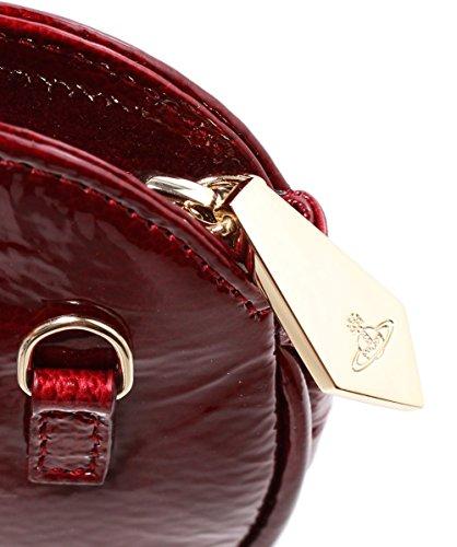 Vivienne Westwood Accessories Da Donna Margate amore cuore frizione Bordeaux Bordeaux