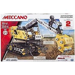 Meccano - 6027036 - Jeu de Construction - Pelleteuse