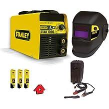 Poste à souder inverter Stanley 7000200à avec masque autoscurante Kit électrodes aimant