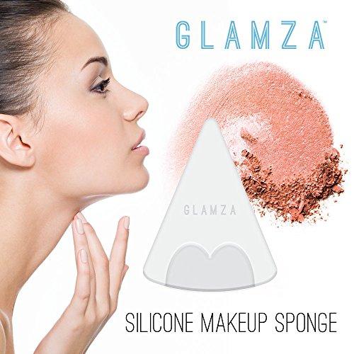 glamza Original Make Up Applikator Silikon Beauty Make Up Schwamm Mixer Dreieck Make-up Schwamm