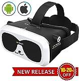 3D Virtual Reality Brille VR Headset f�r 3D Filme Spiele Einstellbare Brennweite Kompatibel mit iOS Android Anderen Handys innerhalb von 4.0-6.0 Zoll Ultraleichtes Gewicht Virtuelle Realit�t Brille Bild