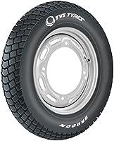 TVS Tyres DRAGON 90/100-10 53J Tubeless Scooter Tyre, Black