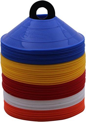 World Sport 100Disc Konus-Set mit Carrier Multi Color