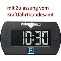 Needit Park Mini elektronische Parkscheibe digitale Parkuhr mit offizieller Zulassung