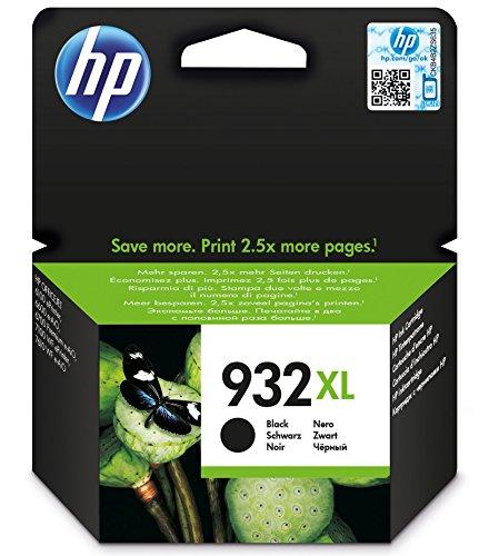 HP 932XL Schwarz Original Druckerpatronen mit hoher Reichweite für HP - Hp Drucker-tinte 933xl