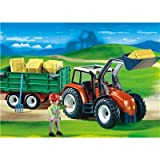 PLAYMOBIL® 4496 - Großer Traktor mit Anhänger
