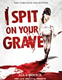 4 DVD Box I Spit on your Grave 1 + 2 + 3 + The 1978 Original Version - Uncut - The Complete Collection