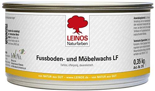 Leinos Fußboden- und Möbelwachs Nr. 310, 0,35 kg