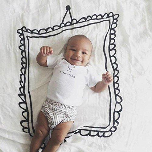 Baby Fotografie Prop Soft, yuyoug Newborn Baby Boy Mädchen Print Wrap Baumwolle Decke Posing Pucken Fotografie Prop, baumwolle, C, Einheitsgröße