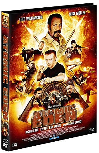 "Atomic Eden - Exklusiv Mediabook A Edition inkl. Original Autogramm ""Fred Williamson"" (500 Copies) - DVD - Blu-ray"