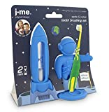 Apollo and Rocket Tooth Brushing Set - Blue
