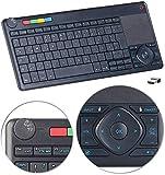 GeneralKeys Touchpad: Lernfähige Multimedia-Funk-Tastatur & Fernbedienung für PC, Smart-TV (Funktastaturen)