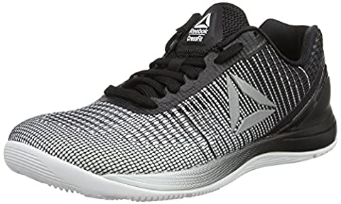 Reebok Women's Crossfit Nano 7 Fitness Shoes, Multicolour (White/Black/Silver Metallic), 4 UK 37