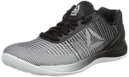 Reebok Crossfit Nano 7, Scarpe Sportive Indoor Donna, Multicolore (White/Black/Silver Metallic), 37 EU