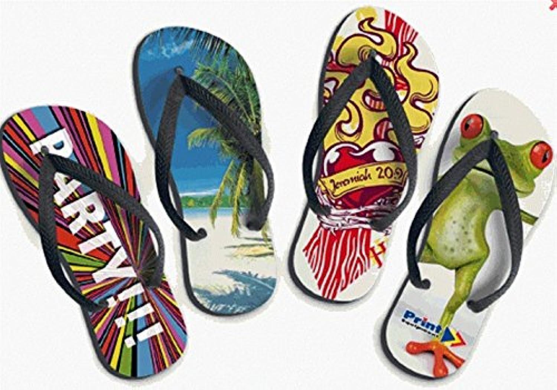 Flip Flops / Badelatschen mit Foto  Billig und erschwinglich Im Verkauf