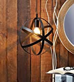 #5: The Brighter Side Metal ring industrial pendant light