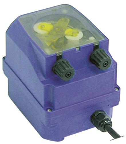 SEKO PR Dosiergerät für Spülmaschine für Reiniger 0,6-4l/h Schlauchanschluss ø 4x6mm 24V mit Ansaug- und Förderschlauch K