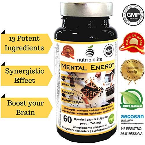 Mental Energy | Nootrópico Natural Potenciador