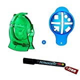 #5: Golfoy Golf Ball Liner Marker Template with Pen Marker Combo Set