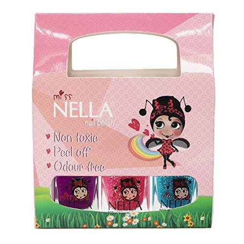Miss Nella - Esmalte uñas purpurina especial niños