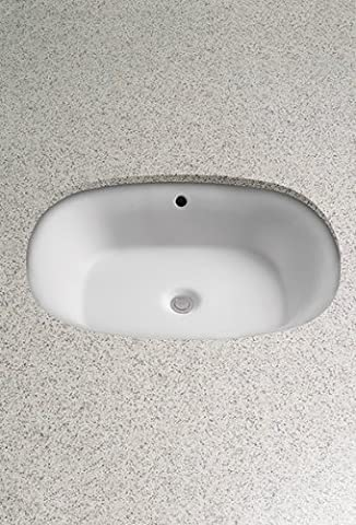 Toto LT481G#11 Maris Undercounter Lavatory Sink with SanaGloss, Colonial White by Toto