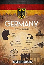 "Notebook: An Faq Poster Of Germany , Journal for Writing, College Ruled Size 6"" x 9"", 110 Pages"